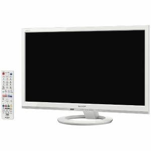 シャープ LC-22K45-W AQUOS(アクオス) 22V型地上・BS・110度CSデジタル フルハイビジョンLED液晶テレビ ホワイト