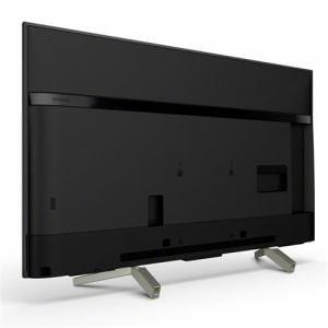 ソニー KJ-49X8500F-B BRAVIA(ブラビア) 49V型地上・BS・110度CSデジタル 4K対応 LED液晶テレビ(ブラック)