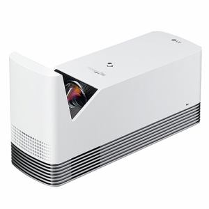 LGエレクトロニクス HF85LS ホームプロジェクター 超短焦点モデル ホワイト