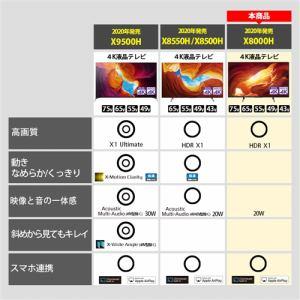 ソニー KJ-55X8000H 4K液晶テレビ BRAVIA 55V