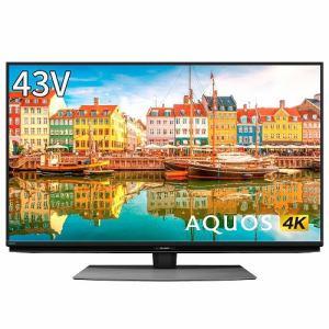 シャープ 4T-C43CL1 BS/CS 4K内蔵液晶テレビ AQUOS(アクオス) CL1シリーズ 43V型 4Kダブルチューナー内蔵