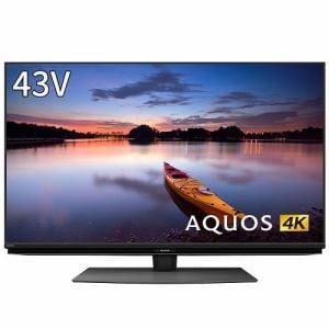 シャープ 4T-C43CN1 BS/CS 4K内蔵液晶テレビ AQUOS(アクオス) CN1シリーズ 43V型 4Kダブルチューナー内蔵