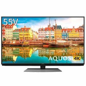 シャープ 4T-C55CL1 BS/CS 4K内蔵液晶テレビ AQUOS(アクオス) CL1シリーズ 55V型 4Kダブルチューナー内蔵