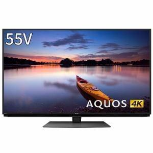 シャープ 4T-C55CN1 BS/CS 4K内蔵液晶テレビ AQUOS(アクオス) CN1シリーズ 55V型 4Kダブルチューナー内蔵