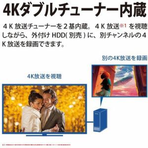 シャープ 4T-C55DS1 BS/CS 4K内蔵有機ELテレビ AQUOS OLED DS1シリーズ 55V型
