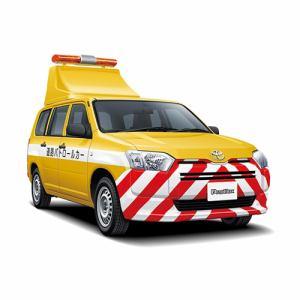 アオシマ ザ・モデルカー No.SP トヨタ NCP160V プロボックス 2014 道路パトロールカー