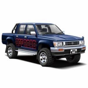 アオシマ 20 ハイラックスピックアップダブルキャブ4WD'94