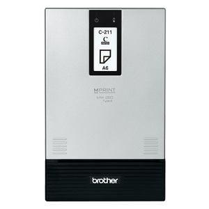 ブラザー A6スタイリッシュモバイルプリンター Mprint Bluetooth MW-260TypeA