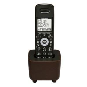 パイオニア 電話機 増設用子機 チョコレートブラウン TF-EK34-T