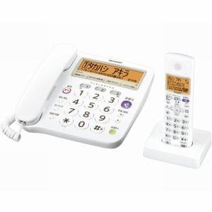 シャープ デジタルコードレス電話機(子機1台) JD-V37CL