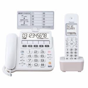 パイオニア TF-SE16S(W) コードレス留守番電話機 TF-SE16シリーズ 子機1個付き