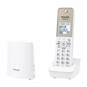 パナソニック VE-GZL40DL-W デジタルコードレス電話機 (子機1台)ホワイト