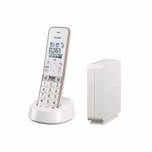 シャープ JD-SF2CL-W コードレス電話機 ホワイト系