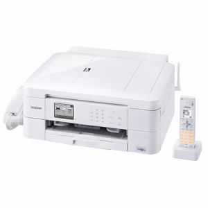 ブラザー MFC-J997DN A4対応 FAX複合機 「PRIVIO(プリビオ)」 (コードレス受話器1台付) ホワイト
