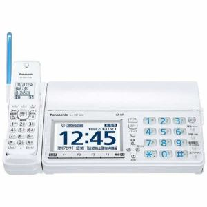 パナソニック KX-PZ710DW-W デジタルコードレス普通紙FAX 「おたっくす」 (子機2台付き) ホワイト