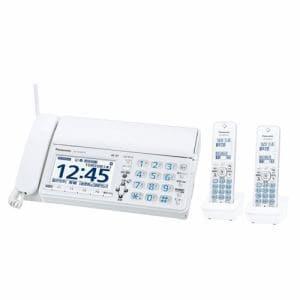 パナソニック KX-PZ620DW-W デジタルコードレス普通紙ファクス おたっくす(子機2台)ホワイト