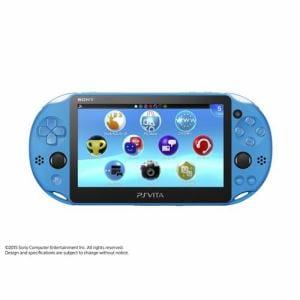 SONY PlayStation Vita Wi-Fiモデル アクア・ブルー PCH-2000ZA23