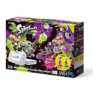任天堂 Wii U スプラトゥーン セット(amiibo アオリ・ホタル付き) WUP-S-WAHT