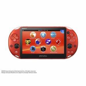 PlayStation Vita(PCH-2000シリーズ) Wi-Fiモデル メタリック・レッド PCH-2000ZA26