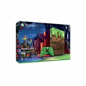 Xbox One S 1TB Minecraft リミテッド エディション 23C-00017