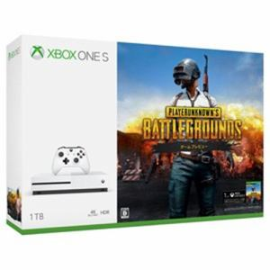 Xbox One S 1 TB (PlayerUnknown's Battlegrounds 同梱版) 234-00316