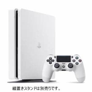 ソニー・インタラクティブエンタテインメント PlayStation4 (プレイステーション4) グレイシャー・ホワイト 1TB PS4 ゲーム機本体 CUH-2200BB02