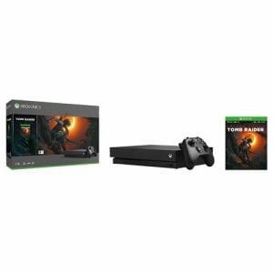 Xbox One X (シャドウ オブザ トゥーム レイダー同梱版) CYV-00111