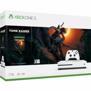Xbox One S 1 TB (シャドウ オブザ トゥーム レイダー同梱版) 234-00789