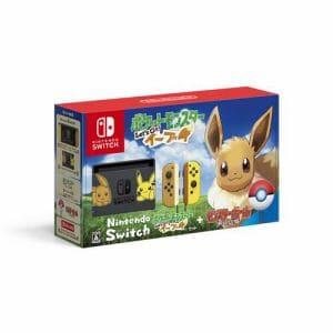【キャンペーンクーポン付】Nintendo Switch ポケットモンスター Let's Go! イーブイセット(モンスターボール Plus付き) HAC-S-KFAGB