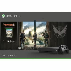 Xbox One X (ディビジョン2 同梱版) CYV-00270