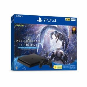 "PlayStation4 ""モンスターハンターワールド:アイスボーン マスターエディション"" Starter Pack Black CUHJ-10030"