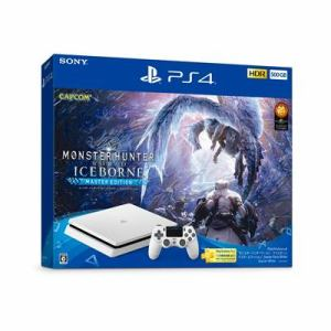 "PlayStation4 ""モンスターハンターワールド:アイスボーン マスターエディション"" Starter Pack White CUHJ-10031"