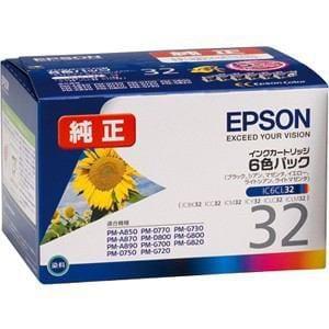 エプソン IC6CL32 [純正インクカートリッジ 6色セット]