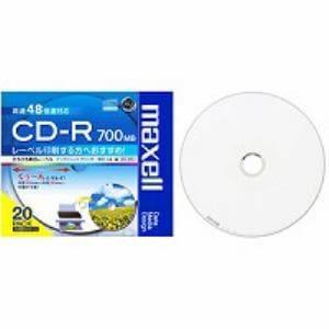 maxell データ用 CD-R 700MB プリンタブルワイド 20枚パック CDR700SWPS1P20S