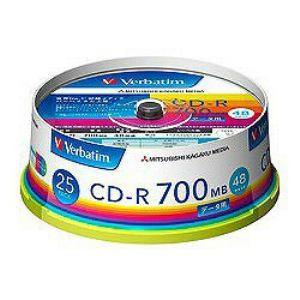 三菱ケミカルメディア SR80FP25V1 CD-R・RW