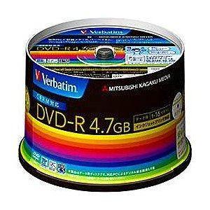 三菱ケミカルメディア DHR47JDP50V3 DATA用DVD-R  50枚16倍速  4.7GB
