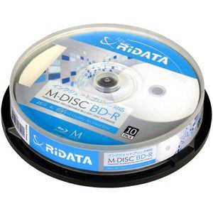 RiDATA M-BDR25GB.PW10SP M-DISC BD-R 4倍速 25GB 10枚スピンドルケース