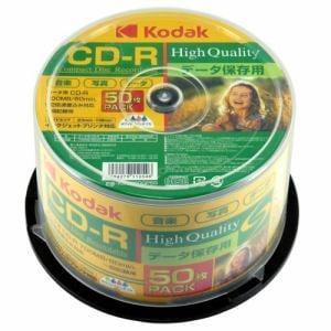 KODAK KDCR80GP50 データ用CD-R スピンドルケース入り 50枚