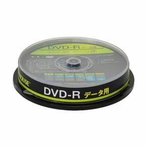 グリーンハウス GH-DVDRDA10 データ用DVD-R 10枚入りスピンドル
