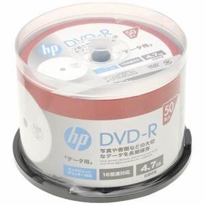 ヒューレットパッカード DR47CHPW50PA データ用4.7GB 16倍速対応DVD-R 50枚パック