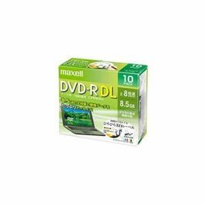 マクセル DRD85WPE.10S データ用 DVD-R DL 2-8倍速対応(CPRM対応) ひろびろホワイトレーベル 8.5GB 10枚