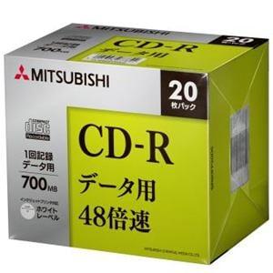 三菱ケミカルメディア SR80FP20D5 一回書込データ用 CD-R 48倍速 20枚