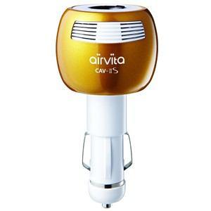 air vita CCA500PG エアービタ車載用空気清浄機 CARVITAIIS ゴールド