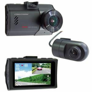 FRC FC-DR222WH GPS搭載!前後200万画素2カメラ・ドライブレコーダー