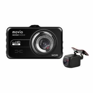 ナガオカ MDVR301FHDREAR 前後2カメラ ドライブレコーダー movio