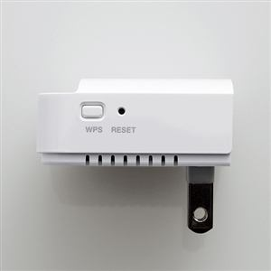 エレコム 無線LAN中継機 (11n/g/b 最大300Mbps/コンセント直付け) WTC-300HWH