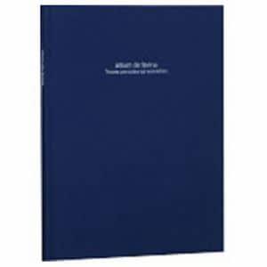ナカバヤシ アH-A4PB-181-DB 100年台紙アルバム「ドゥ ファビネ」(A4ノビ台紙)