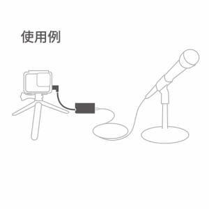 GoPro AAMIC-001 プロ3.5mmマイクアダプター