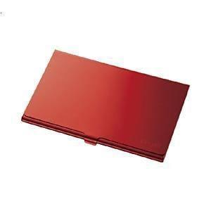 ナカバヤシ MCC-801R SDメモリカードケース レッド
