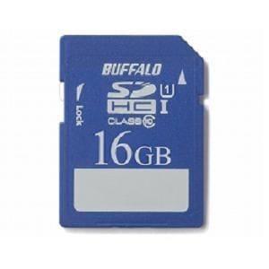 BUFFALO SDHC16GB UHS-1 RSDC16GUA